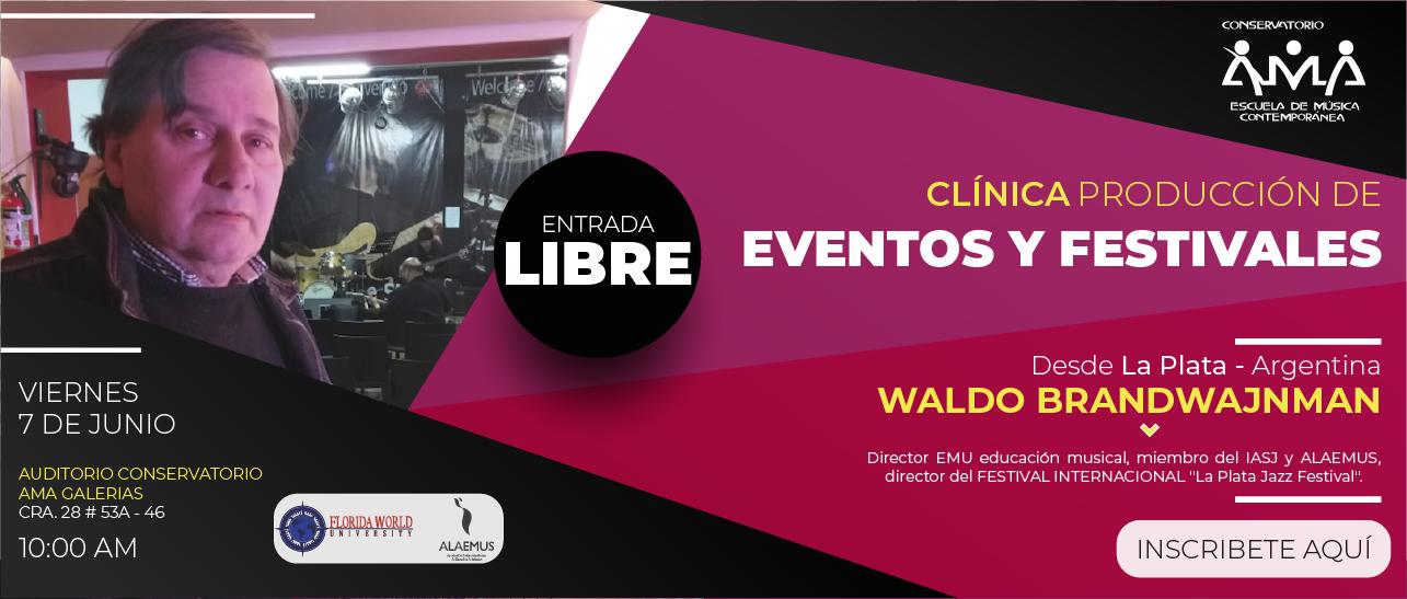 CLINICA festivales y eventos web